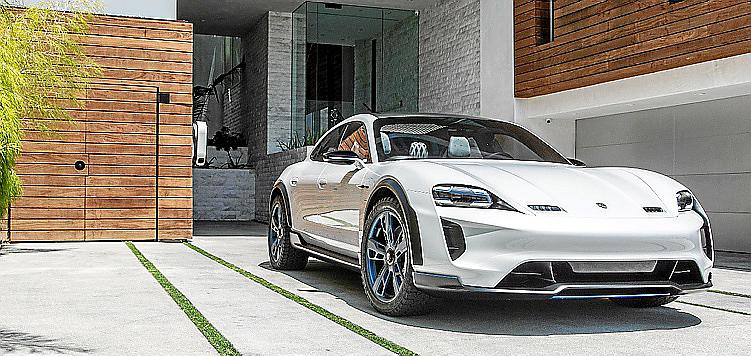 El prototipo Porsche 'Mission E Cross Turismo' se producirá en serie