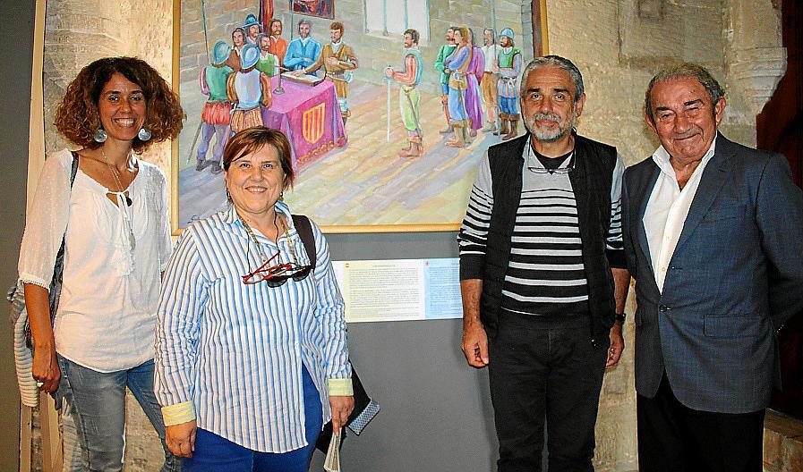 Guillem Morro y 'els Agermanats', en el Castell de Bellver