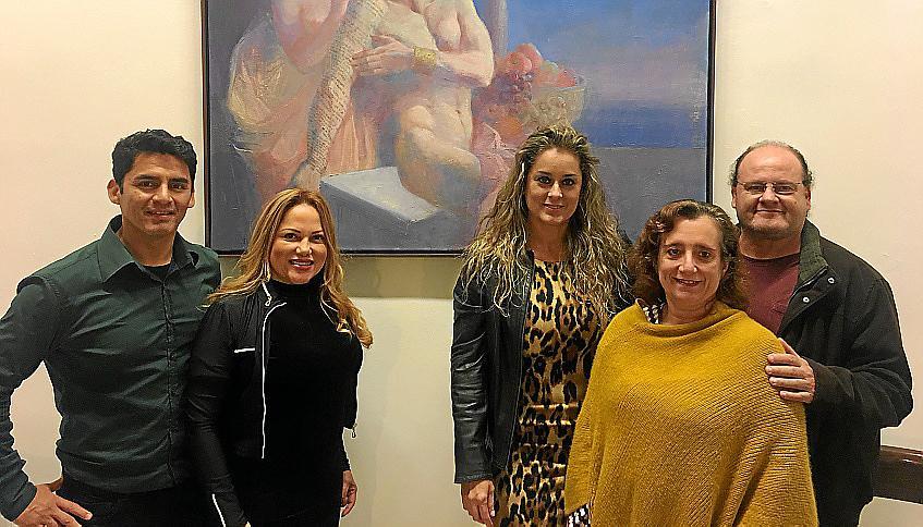 Galería Vanrell expone obras de Castañeda, Roca Fuster y Xam