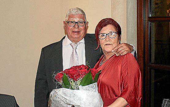 Bodas de oro de Pedro Oliver y María García