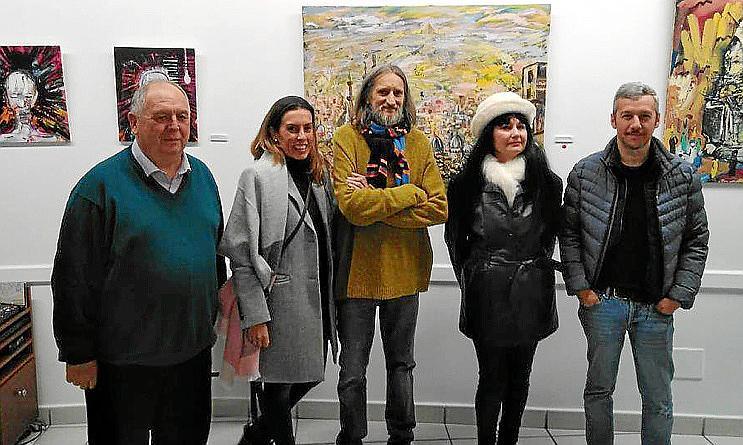 José Aranda expone su obra en Manacor