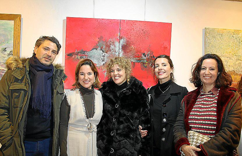 Monsina Rosselló expone su obra en Aina Pastor Art Gallery