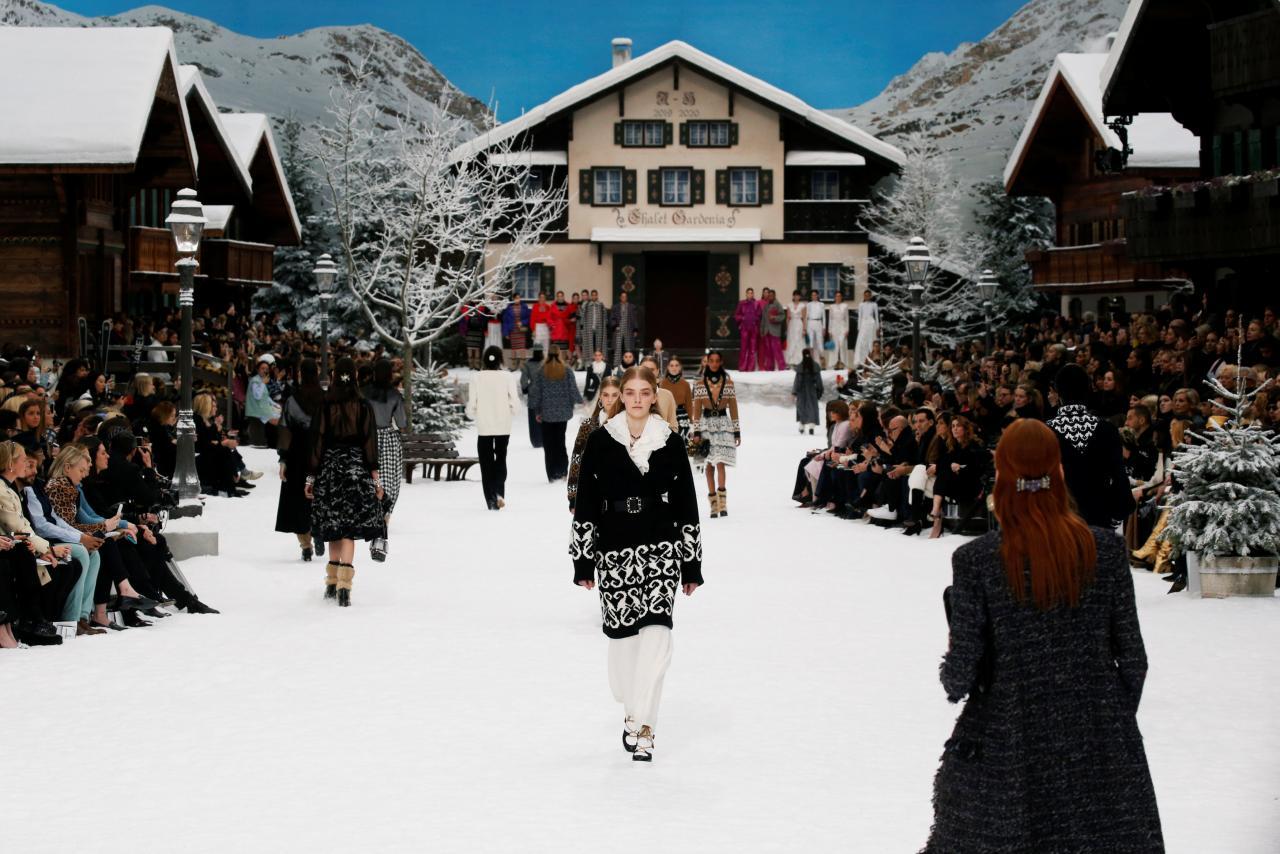 Chanel show at Paris Fashion Week