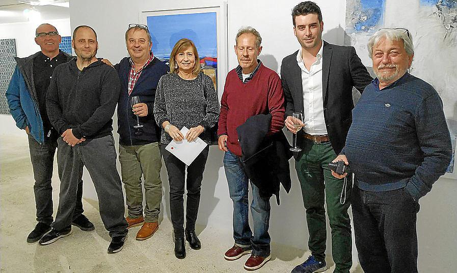 Exposición de artistas ibicencos en la galería Marimón
