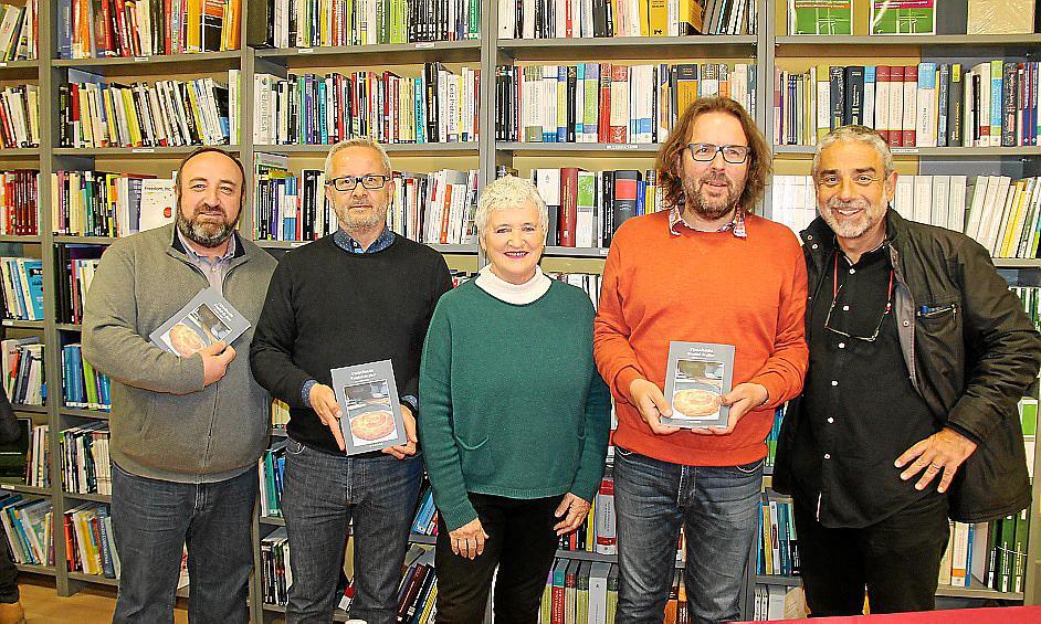 Presentación del libro de Tomàs Vibot 'L'ensaïmada: l'espiral de plaer'