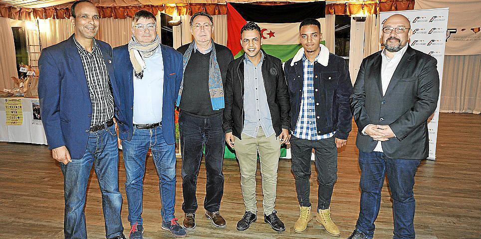Cena solidaria de la Associació d'Amics del Poble Sahrauí