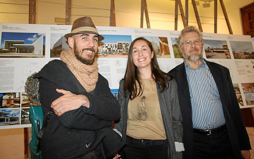 Exposición en el Colegio de Arquitectos