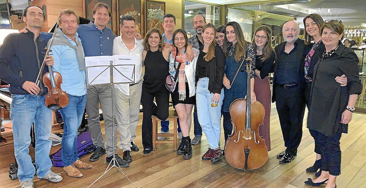 Concierto de Studium Aureum en El Pesquero