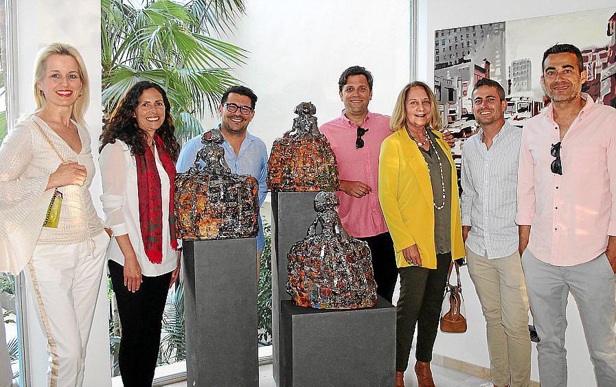 Exposición de Ernesto Rodríguez y Enrique Razkin