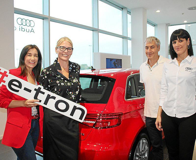 Presentación en Audi Center Palma