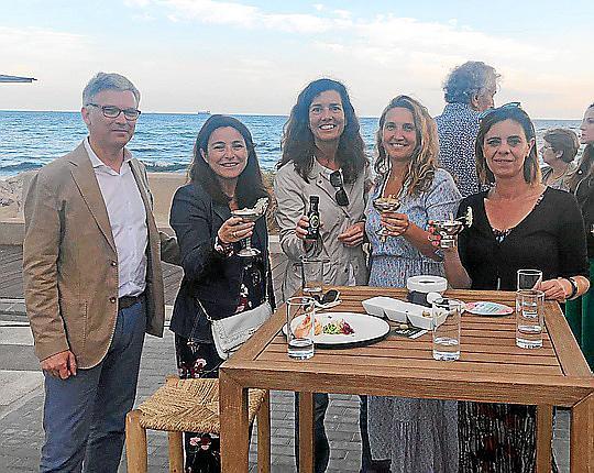 Presentación del cóctel 'Dolça roqueta' de la DO Oli de Mallorca
