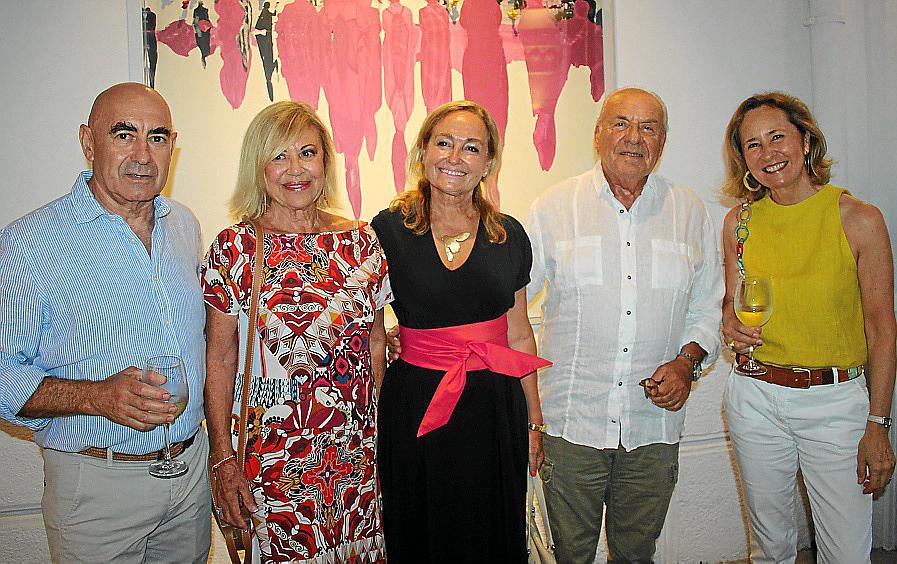 Francesca Martí presenta su obra en la galería Gerhardt Braun