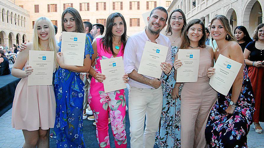 Fiesta de graduación en Grupo Fleming