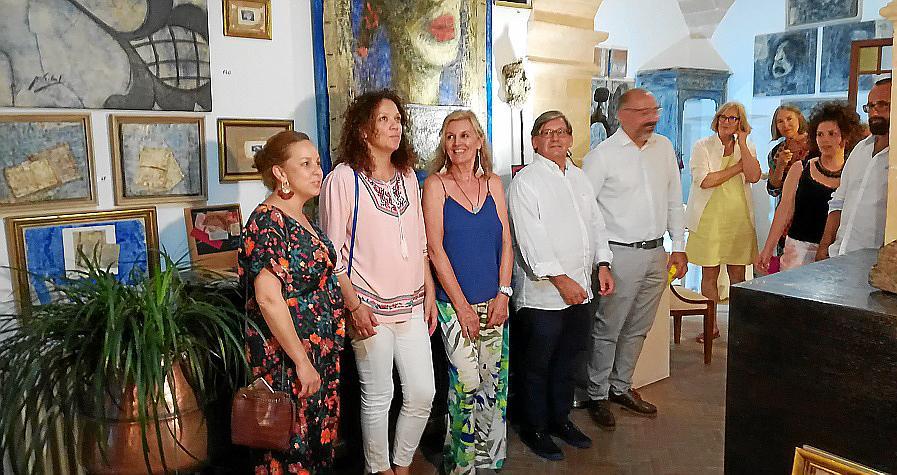 Miquela Vidal, en la Nit de l'Art de Campos