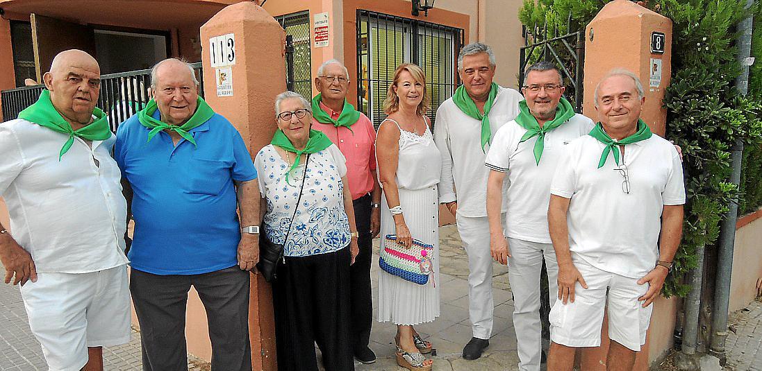 Cena en blanco del Centro Aragonés