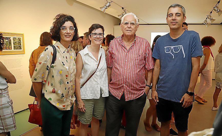 La poesía de Andreu Vidal a través de ilustraciones en Es Baluard