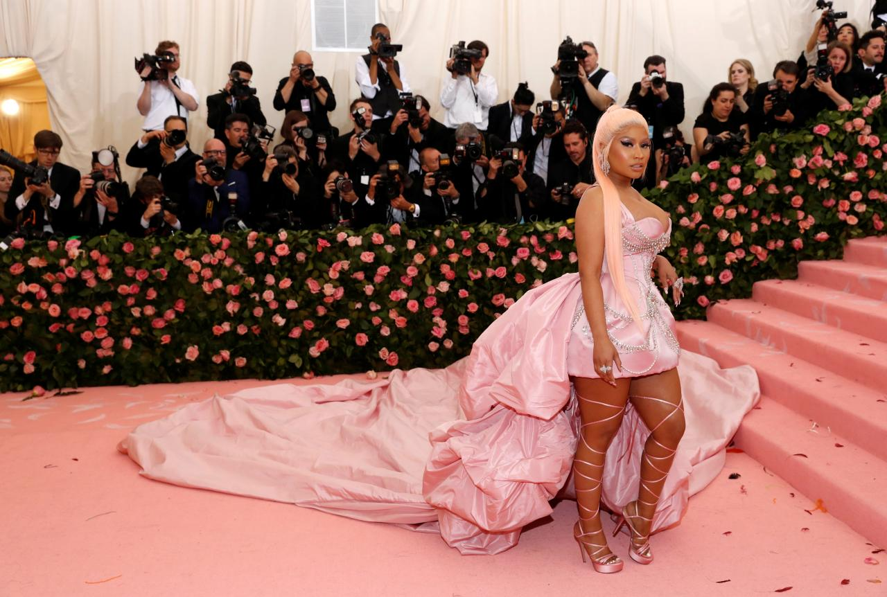 FILE PHOTO: Metropolitan Museum of Art Costume Institute Gala - Met Gala - Camp: Notes on Fashion - Arrivals - New York City, U.S.