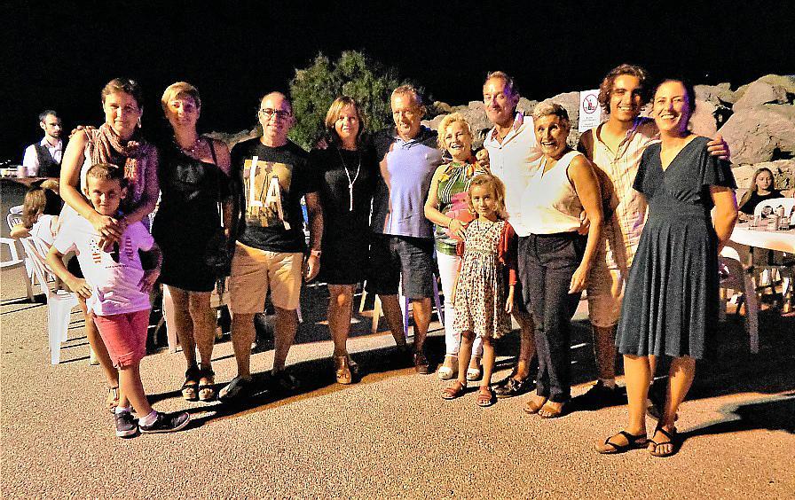 Cena de verano en el Club Náutico de la Colònia de Sant Pere