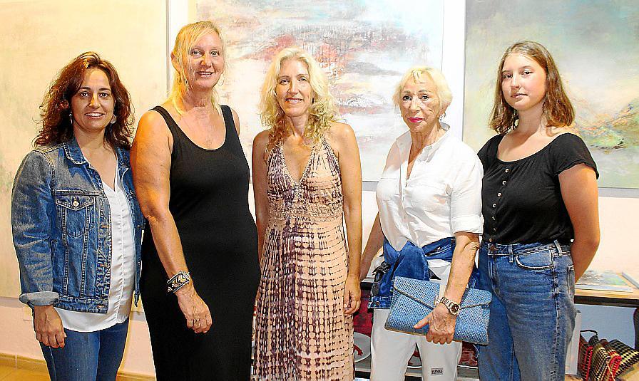 Doris Duschelbauer presenta su obra en la Galería Aina Pastor