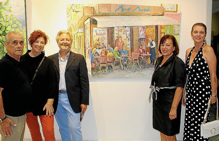 'Gil y amigos' se presenta en la Fundació Barceló