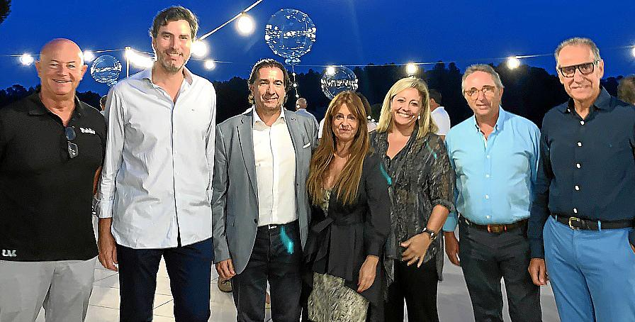 Entrega de premios del XXIV Torneo de Golf Cope Mallorca