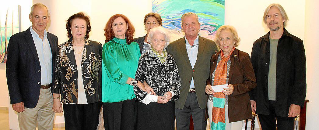 Exposición de María José Ros en la galería Vanrell