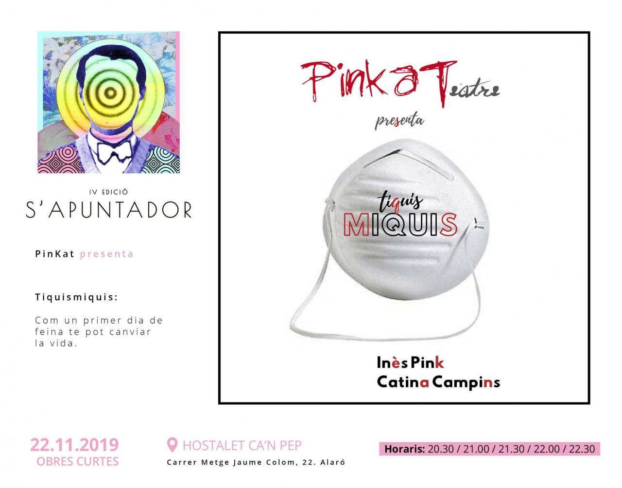 S'Apuntador 2019 - Pinkateatre