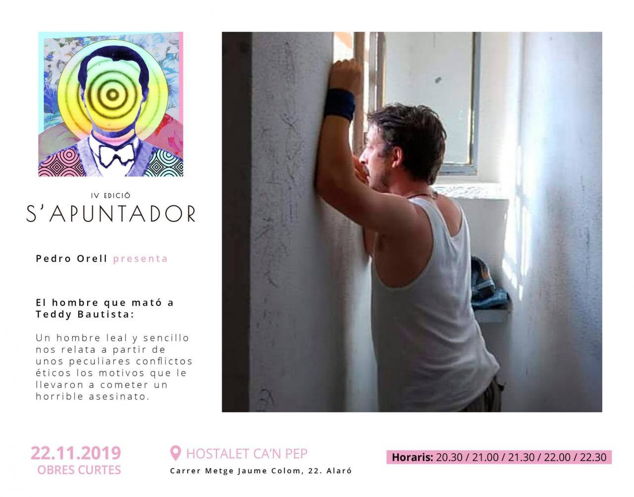 S'Apuntador 2019 - Pedro Orell