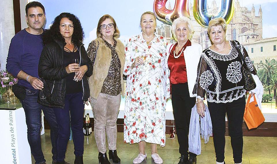 Despedida de Manuela de la Vega como presidenta de Alcer
