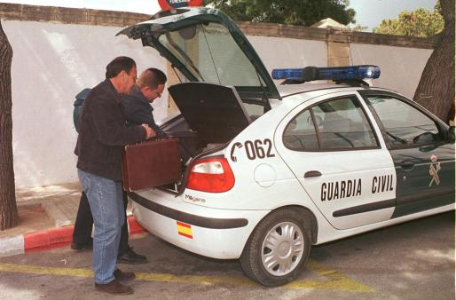 La Guardia Civil investigó el caso.