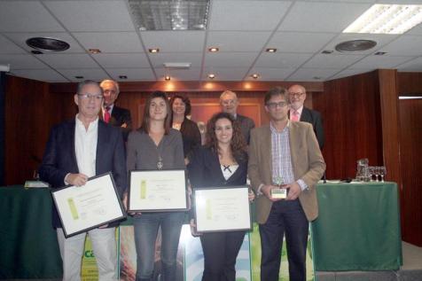 Premios CAEB 2012 a la Prevención de riesgos laborales