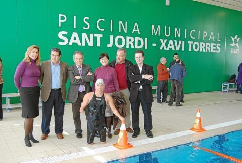 sant jordi inauguracion de la piscina municipal sant