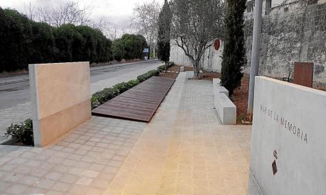 PALMA. CEMENTERIOS.  MUR DE LA MEMORIA  HISTORICA EN EL CEMENTERIO DE PALMA.¶