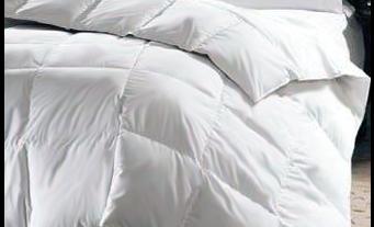 La exposición a edredones y almohadas de plumas puede causar