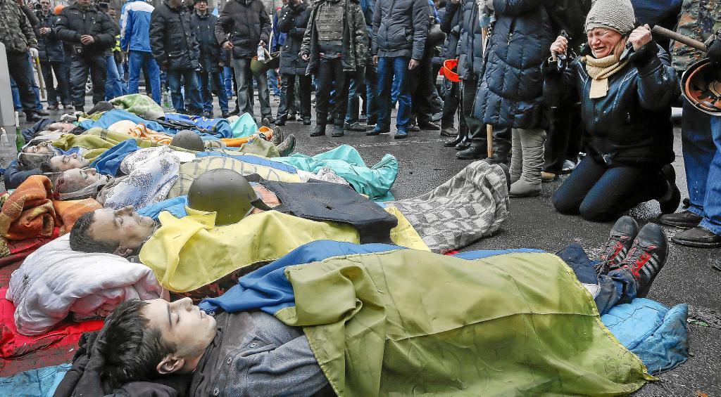Ba o de sangre en kiev internacional noticias ultima for Hipotecas suelo ultima hora