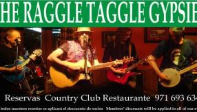 Raggle Taggle Gypsies, rock, country y folk irlandés en el Shamrock