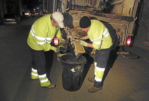 Operarios de residuos