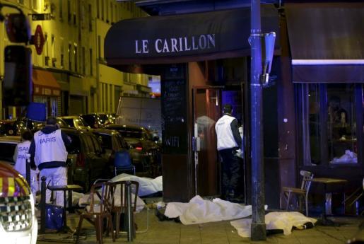 Tiroteos y explosiones en París