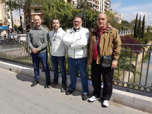Huelga de hambre de vigilante de Es Pinaret
