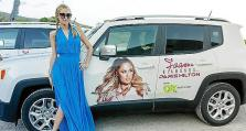 Paris Hilton, con los Jeep Renegade de OK Rent A Car