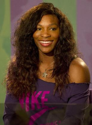 La tenista Serena Williams.