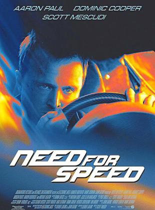 Cartel del film 'Need for speed'.