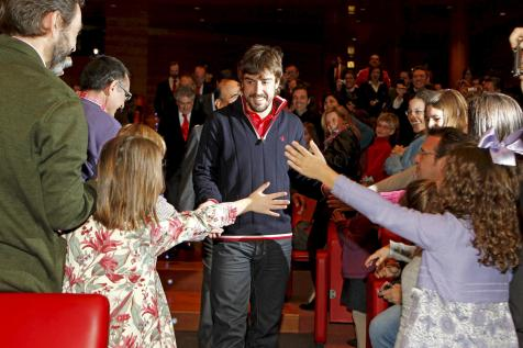 Fernando Alonso en la Gala del Santander 317