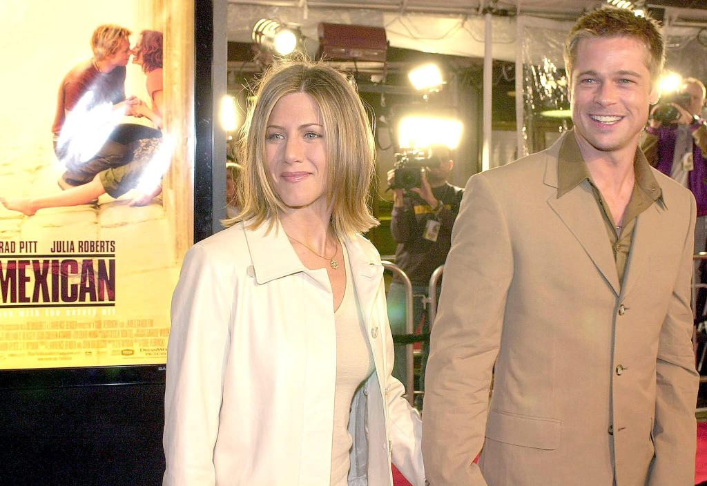 Después del divorcio del actor, Brad Pitt y Jennifer Aniston ...