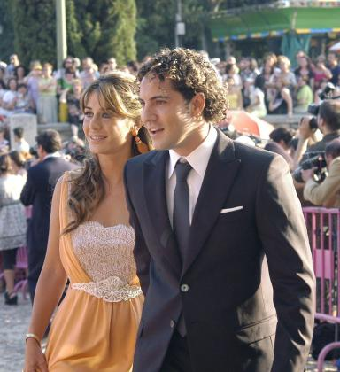 David Bisbal y Elena Tablada.