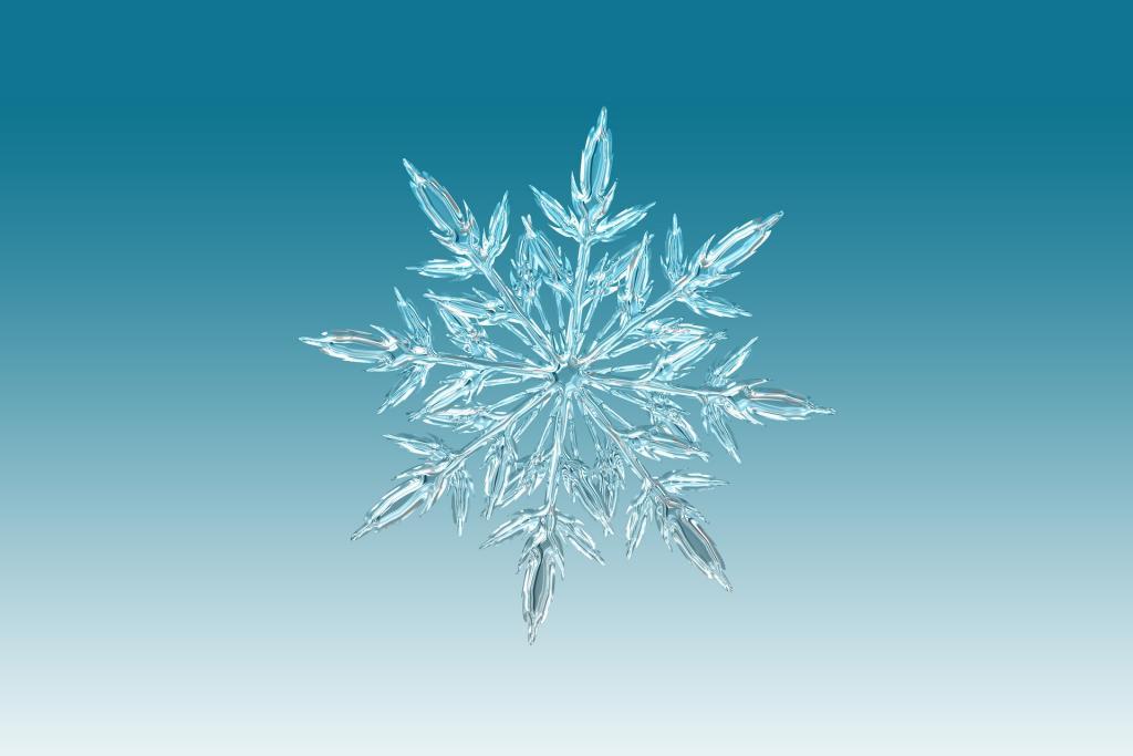 Resultado de imagen de Las bellas figuras de los copos de nieve