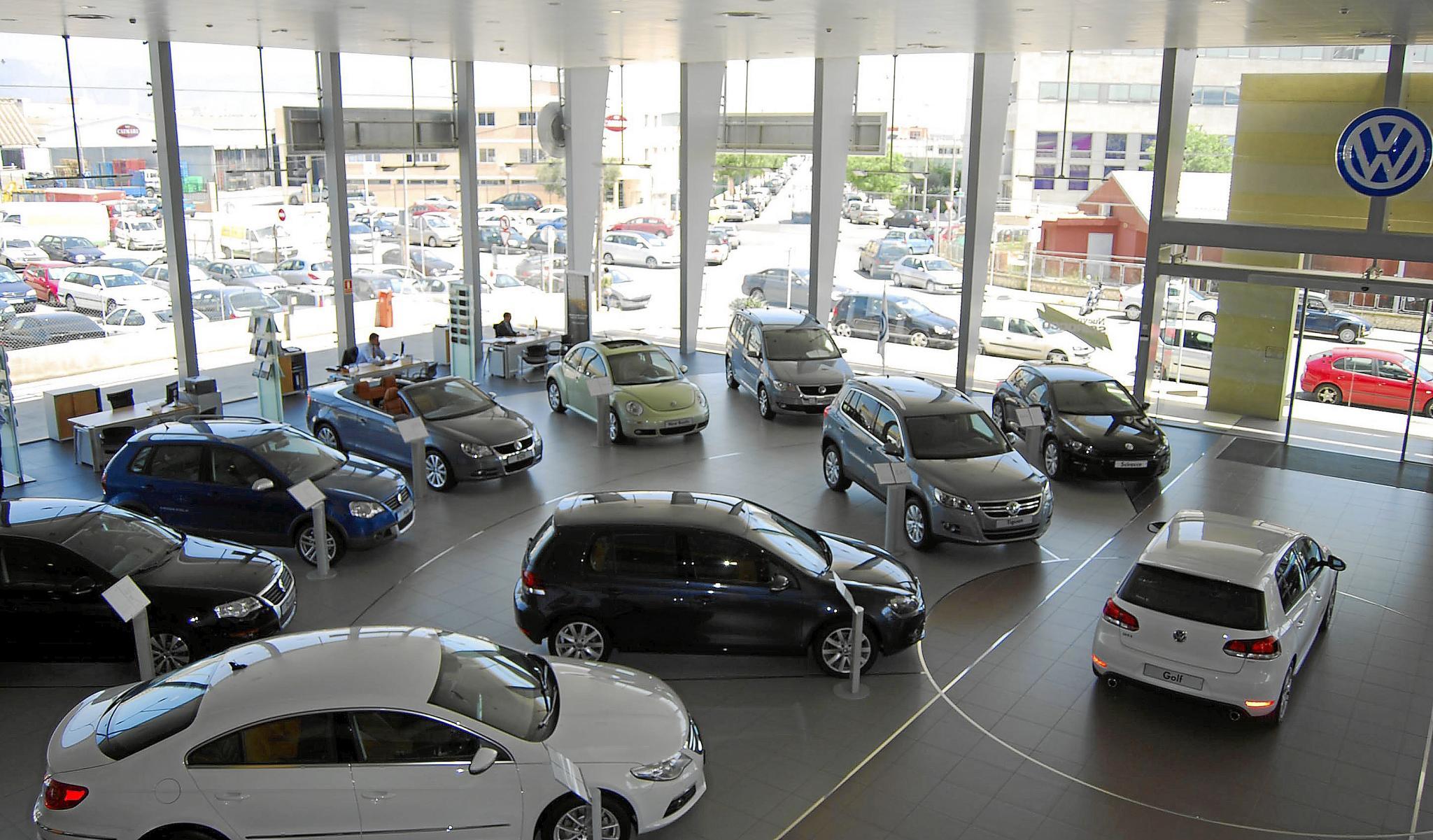 Los concesionarios de coches acumulan caídas de ventas de hasta el ...