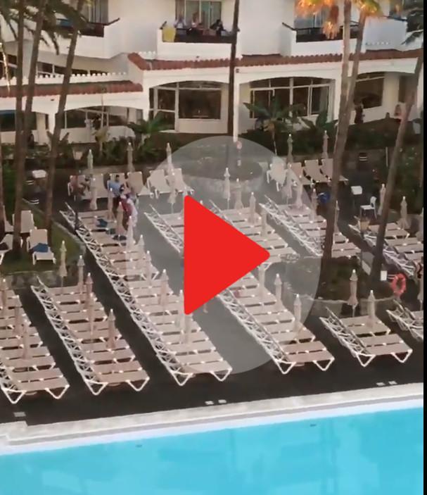Carreras para coger una tumbona en un hotel de gran canaria nacional noticias ultima hora - Tumbonas gran canaria ...