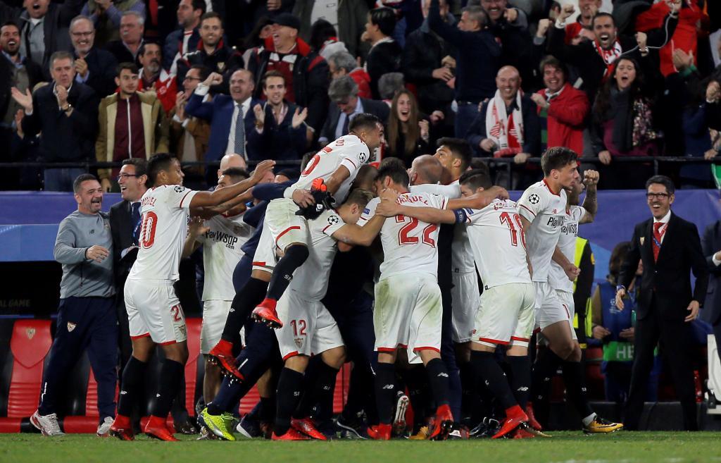 Empate épico del Sevilla ante el Liverpool que deja a ambos con ...