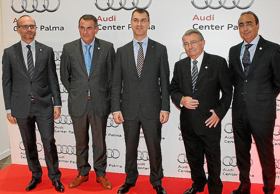 Presentación del nuevo Audi Center Palma